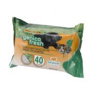 Ferplast Genico Fresh Green Tea очищающие салфетки для собак и кошек, 40 шт