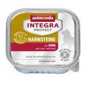 Animonda İntegra Protect Harnsteine влажный корм для кошек для лечения мочекаменных болезней с говядиной.