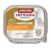 Animonda Integra Protect Harnsteine влажный корм для взрослых кошек при мочекаменных болезнях с уткой