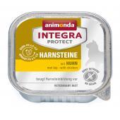 Animonda İntegra Protect Harnsteine влажный корм для кошек для лечения мочекаменных болезней с курицей, 100 г