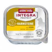 Animonda İntegra Protect Harnsteine влажный корм для кошек для лечения мочекаменных болезней с курицей.