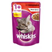 Whiskas мини-филе с говядиной