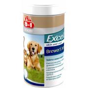 Excel 8in1 пивные дрожи, забота о коже и шерсти 780 шт
