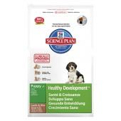 Hill's Science Plan Puppy Healthy Development Medium Lamb & Rice для щенков с 4 недель до 1 года с ягненком и рисом 9264M (целый мешок 12 кг)