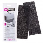 Ferplast L135 запасной угольный фильтр для кошачьих туалетов, 20 x 0,2 x 7 см