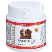 Polidex Multivitum Plus витамины для собак, 150 таб.