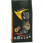 Van Cat сухой корм для кошек, ягненок с рисом (целый мешок 15 кг)