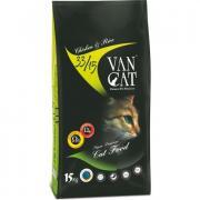 Van Cat сухой корм для кошек, курица с рисом (целый мешок 15 кг)