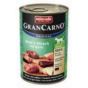 Gran Carno Adult с говядиной, олениной и яблоком, 400 г
