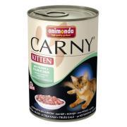 Carny Kitten консервы с курицей и кроликом для котят