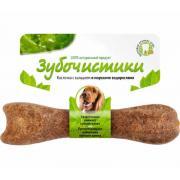 Зубочистики косточка с кальцием и морскими водорослями для собак весом от 10 до 25 кг, 13 см