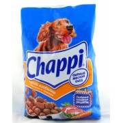 Chappi мясное изобилие с овощами и травами