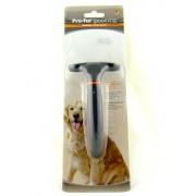 Гребенка для собак однорядная с густым подшерстком
