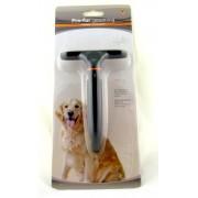 Гребенка однорядная для собак с густым подшерстком