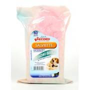 Влажные очищающие мускусные салфетки для собак и кошек, 40 шт.