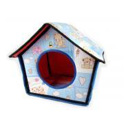 Домик для кошек и мелких собак 38×38×40 см