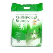 Сибирская кошка силикагелевый наполнитель 16 л