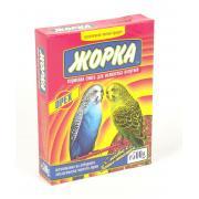 Жорка корм для волнистых попугаев с орехами