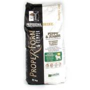 Proper Form & Temper Lupoidi Mesomorfi для щенков средних и крупных пород с рыбой и кукурузой (целый мешок 20 кг)