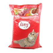 Мяу сухой корм для взрослых кошек с телятиной (на развес)