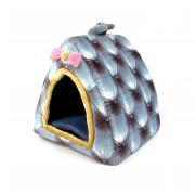 Лежанка-домик для кошек и мелких собак 30×30 см
