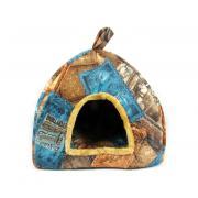 Домик для кошек и мелких собак 40×40 см