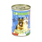 Bormann консервы для взрослых собак всех пород в соусе с лососем