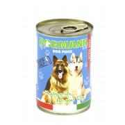 Bormann консервы для взрослых собак всех пород в соусе с говядиной