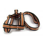 Шлейка и поводок (110/3см) (комплект), для собак средних пород