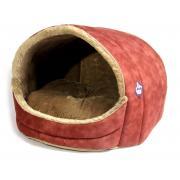 Домик-ракушка для кошек и мелких собак 40×30 см