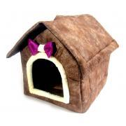 Домик для кошек и мелких собак 42×37×40 см