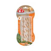 Скрученные палочки с куриным мясом для собак весом от 2 до 12 кг, 10 шт.