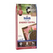 Bosch Energy Extra сухой корм для взрослых собак с высоким уровнем активности с мясом домашней птицы (целый мешок 15 кг)