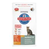 Hill's Science Plan Sterilised Cat Young Adult для молодых и взрослых стерилизованных кошек с курицей 9357М (целый мешок 8 кг)