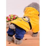 Теплый костюм для собак мелких пород, размер S