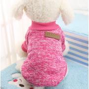 Теплый свитер для собак мелких пород, размер S