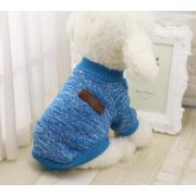 Теплый свитер для собак мелких пород, размер XS