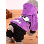 Теплый костюм для собак мелких пород, размер XS