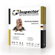 Inspector ошейник от внешних и внутренних паразитов для собак мелких пород, 40 см