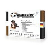 Inspector капли на холку от внешних и внутренних паразитов для собак от 40 до 60 кг