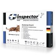 Inspector капли на холку от внешних и внутренних паразитов для кошек от 1 до 4 кг