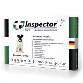 Inspector капли на холку от внешних и внутренних паразитов для собак от 4 до 10 кг