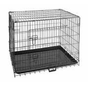 Закрытый вольер для кошек и собак крупных пород, размер L, 92 x 55 x 65 см