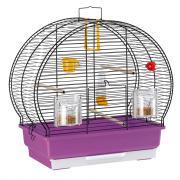 Ferplast Luna 2 Black клетка для канареек и маленьких экзотических птиц, 44,5 x 25 x 45,5 см