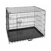 Закрытый вольер для кошек и собак средних пород, размер М, 76,5 х 45 х 52