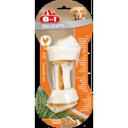 Жевательные кости с куриным мясом внутри для собак от 12 до 35 кг