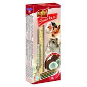 Vitapol Smakers с кокосом для грызунов и кроликов, 2 шт., 90 г