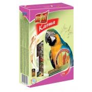 Полнорационный корм для крупных попугаев