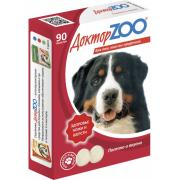 ДокторZOO полезное и вкусное лакомство с биотином для собак, 90 табл.