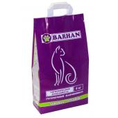 Barhan комкующийся наполнитель с ароматом лаванды, средние гранулы, 4 кг
